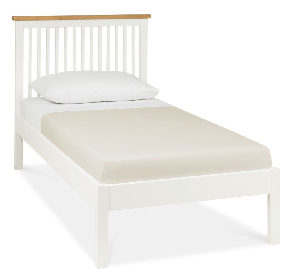 Bentley Designs Atlanta Two Tone Low Foot Single Bed Frame