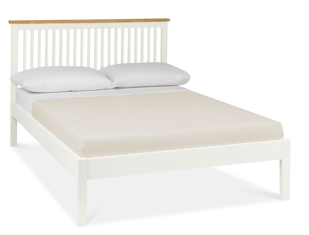 Bentley Designs Atlantis Two Tone Low Foot Bed Frame