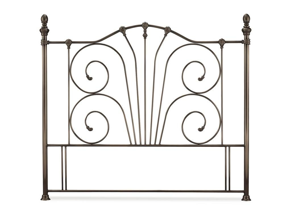 Jessica Nickel Three Quarter Headboard