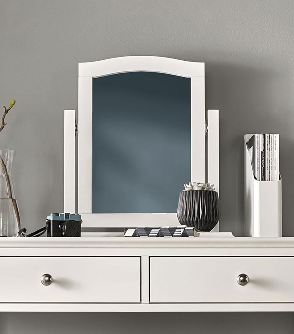Ashenby White Vanity Mirror