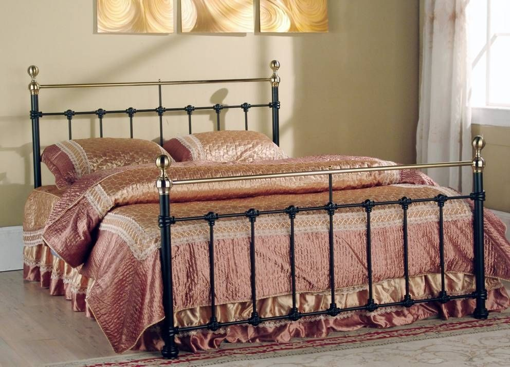 Tarvos Black Double Bed Frame