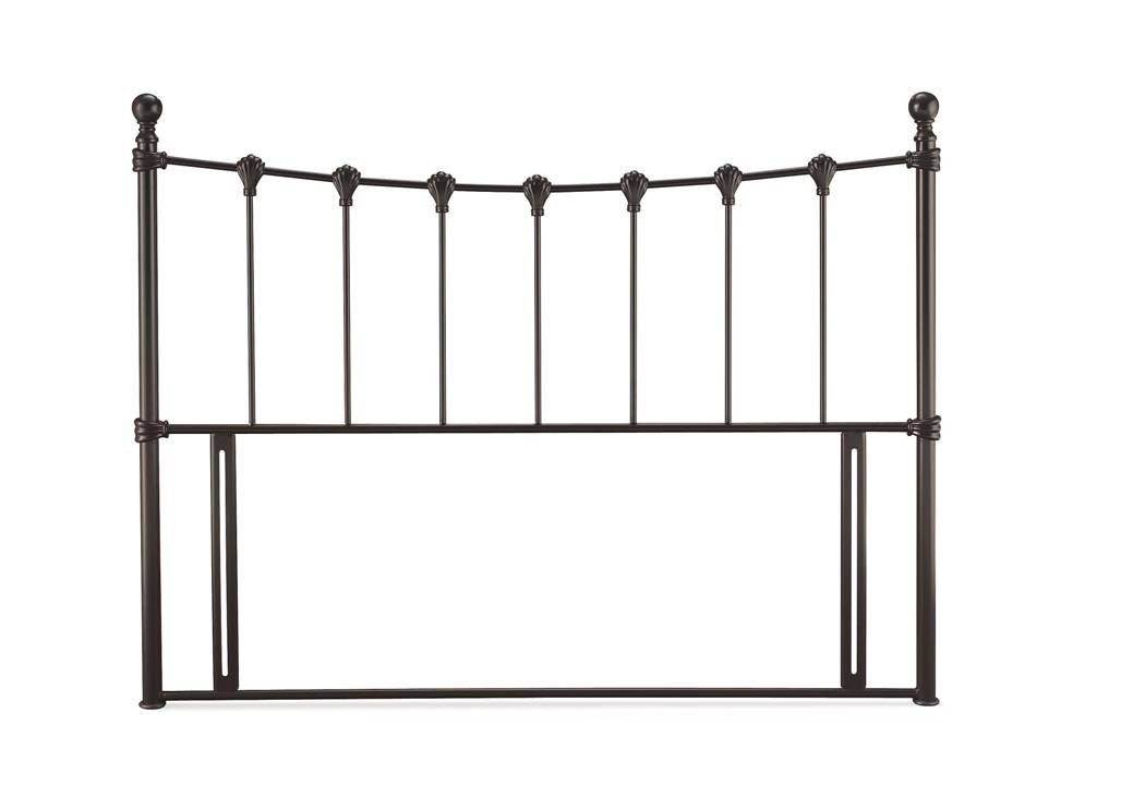 Marseilles Black Three Quarter Headboard