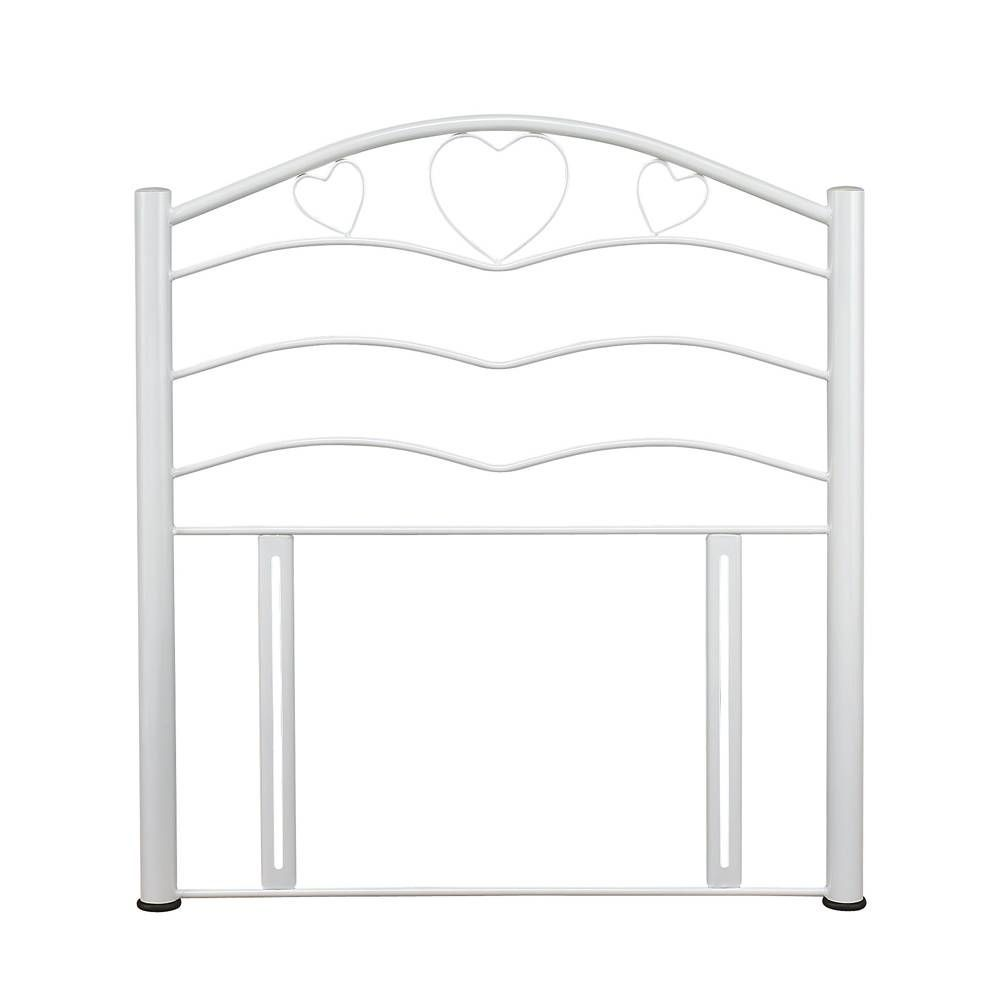 Yasmin White Single Headboard