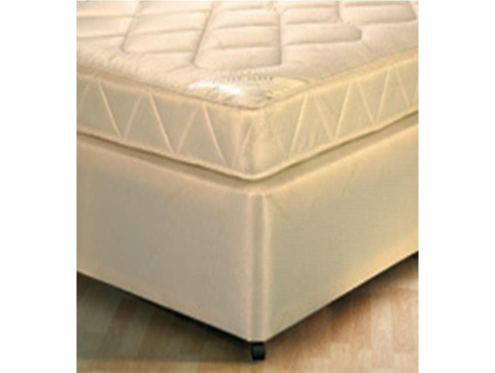 Classic Ortho Small Single 2 Drawer Divan Bed