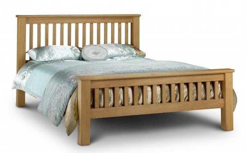 new arrivals 0fae6 c59bb Amsterdam Oak King Size Bed Frame