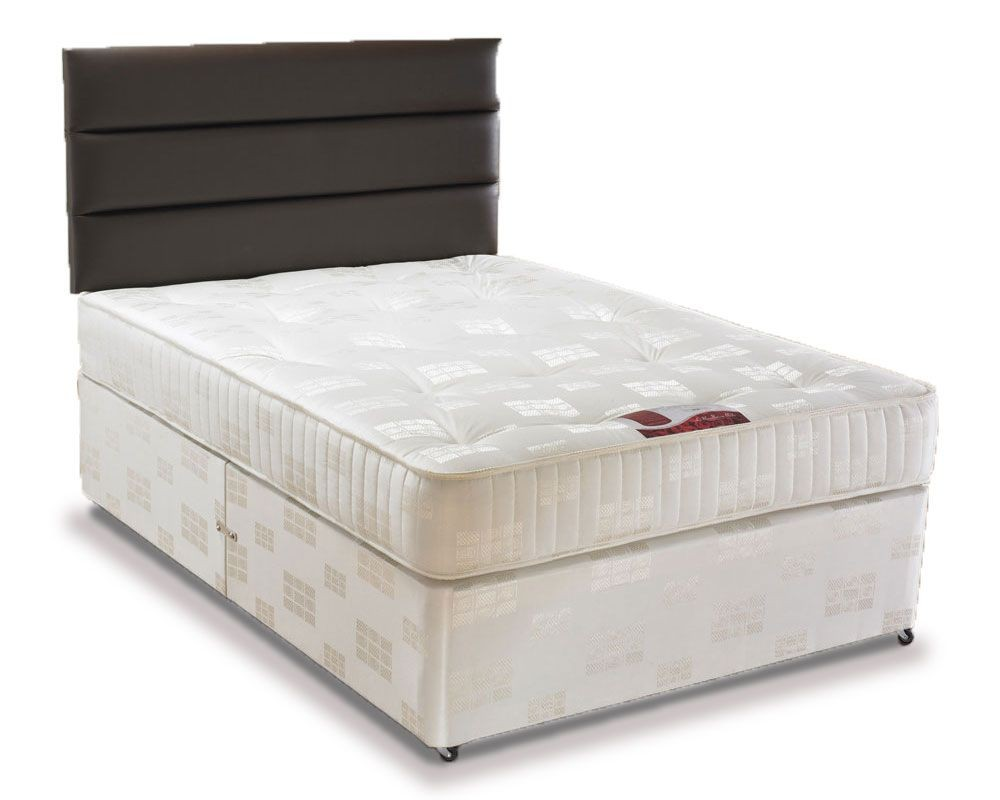 Angelina three quarter 3 4 4 drawer divan bed three for Double divan bed with four drawers