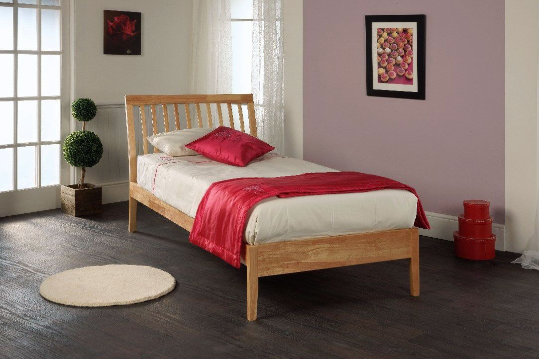Annanke Natural Single Bed Frame
