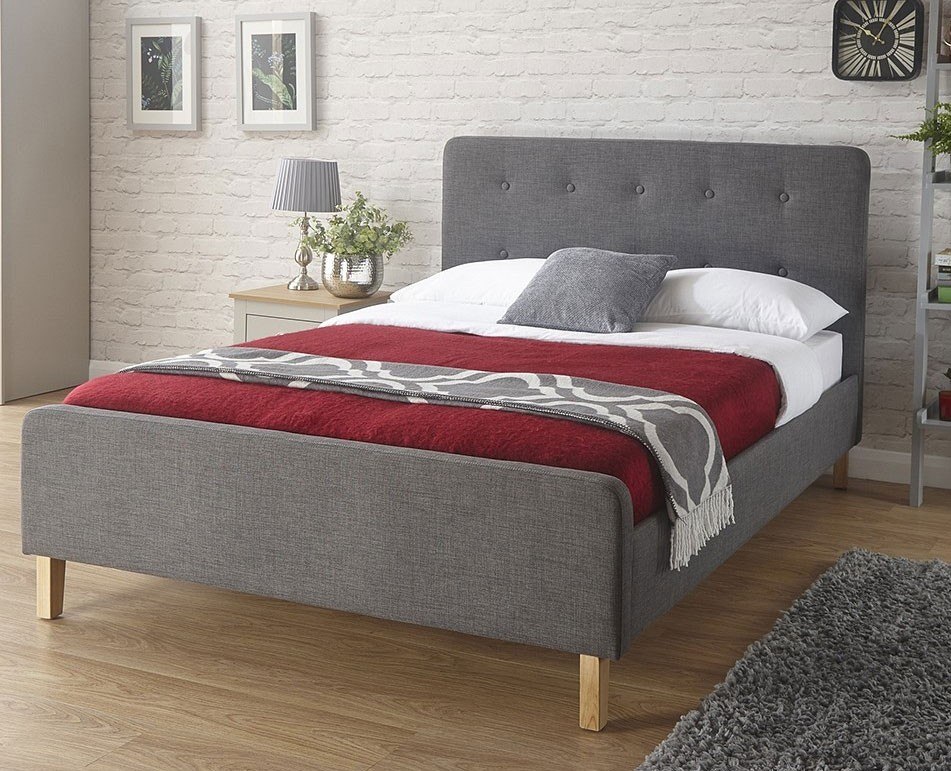 Ashville Bed Frame In Grey
