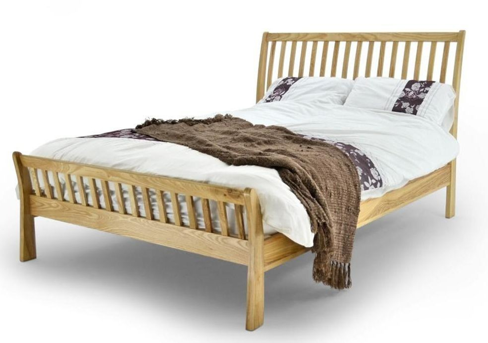 Ashton Oak Double Bed Frame