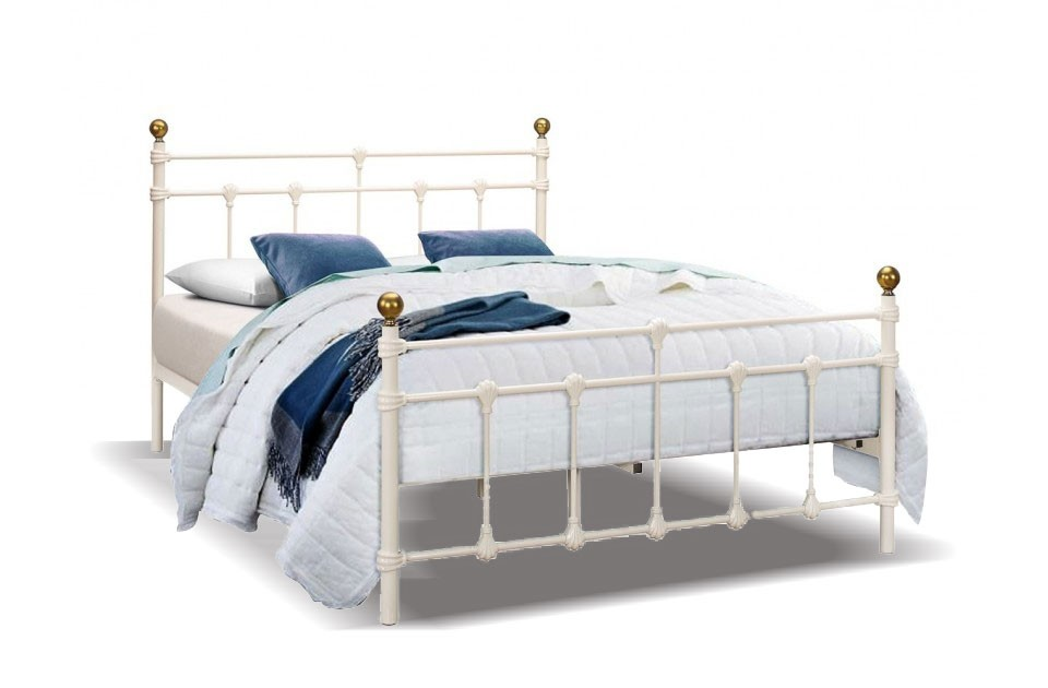 Atlas Cream Bed Frame