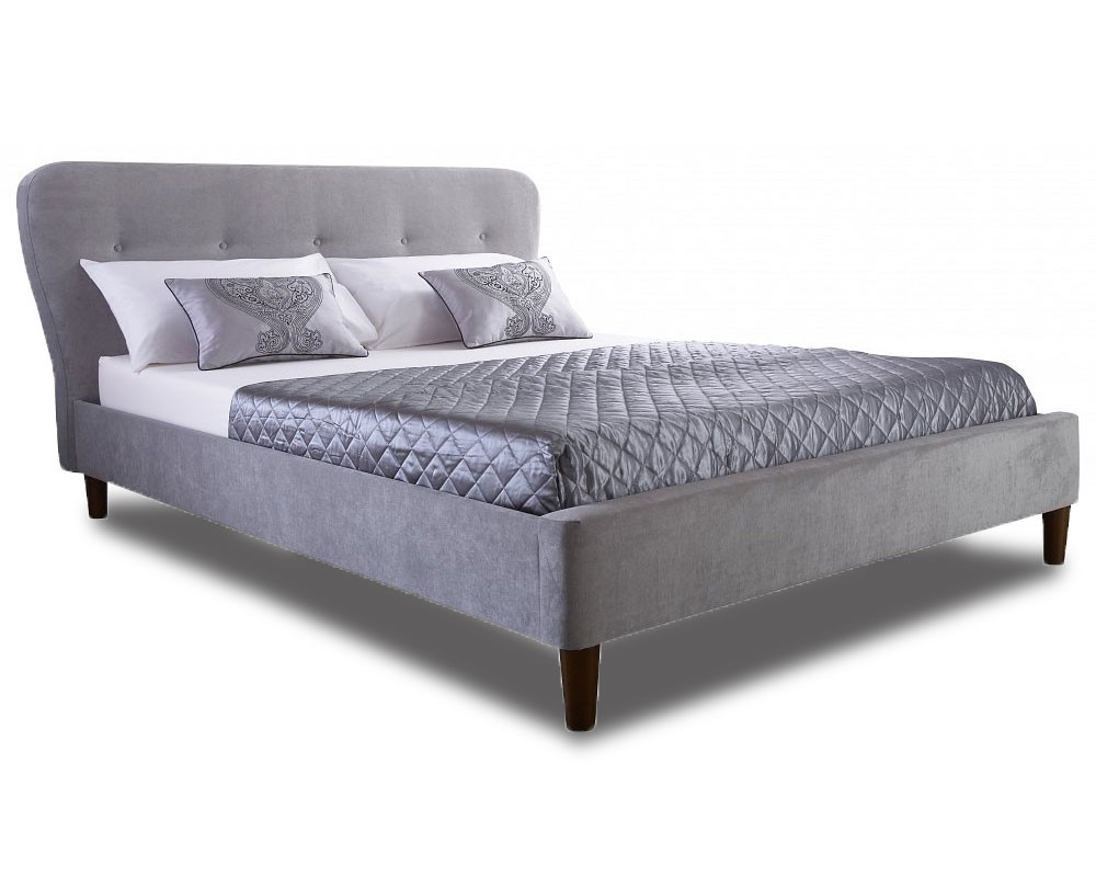Aviator Silver Double Bed Frame