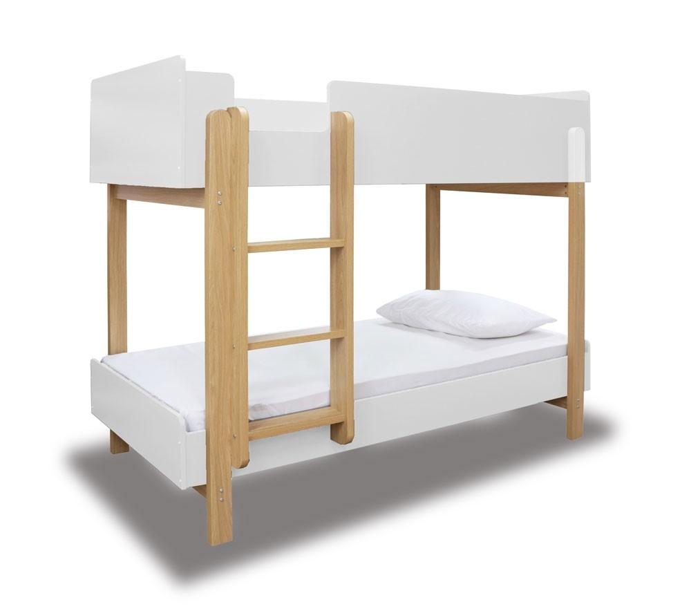 Nero White Bunk Bed