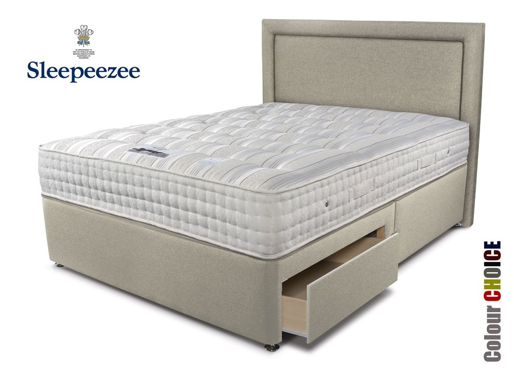 Sleepeezee Backcare Ultimate 2000 Divan Bed
