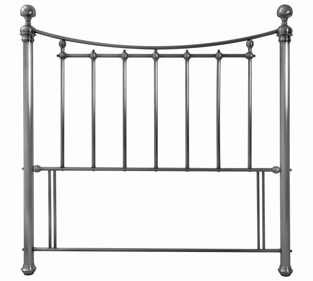 Bentley Designs Isabelle Antique Nickel Kingsize Headboard
