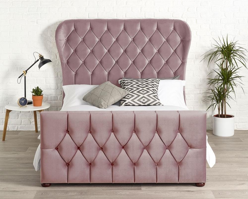 Jaden Blush Bed Frame