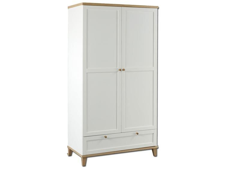 Boston 2 Door 1 Drawer Robe