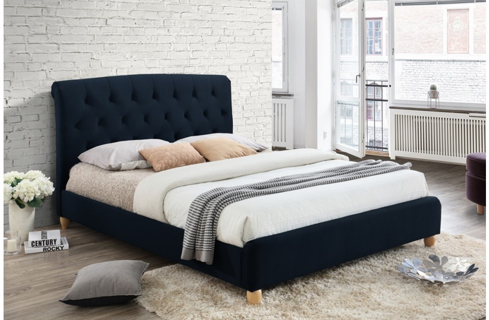 Bromford Midnight Blue King Size Bed Frame