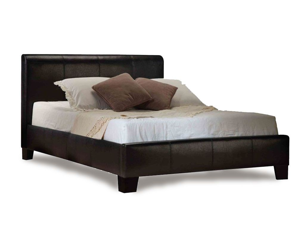 Brooke Black Three Quarter Bed Frame