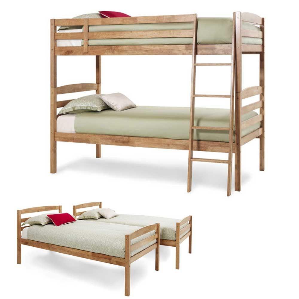 Brooke Honey Oak Bunk Bed