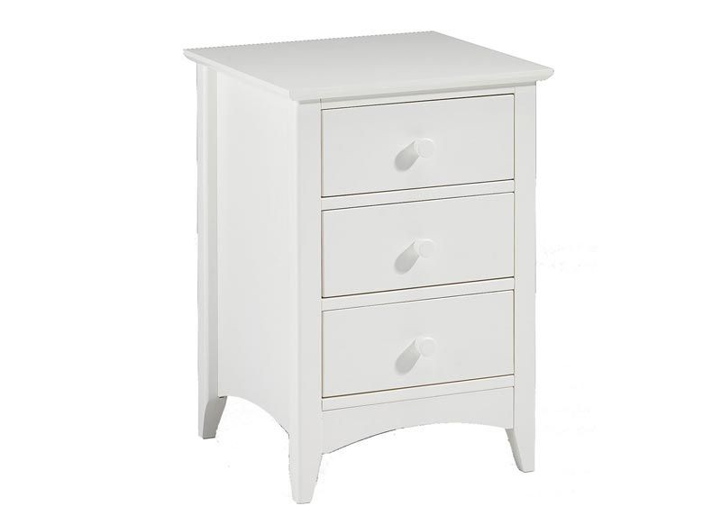 Cammy 3 Drawer Bedside