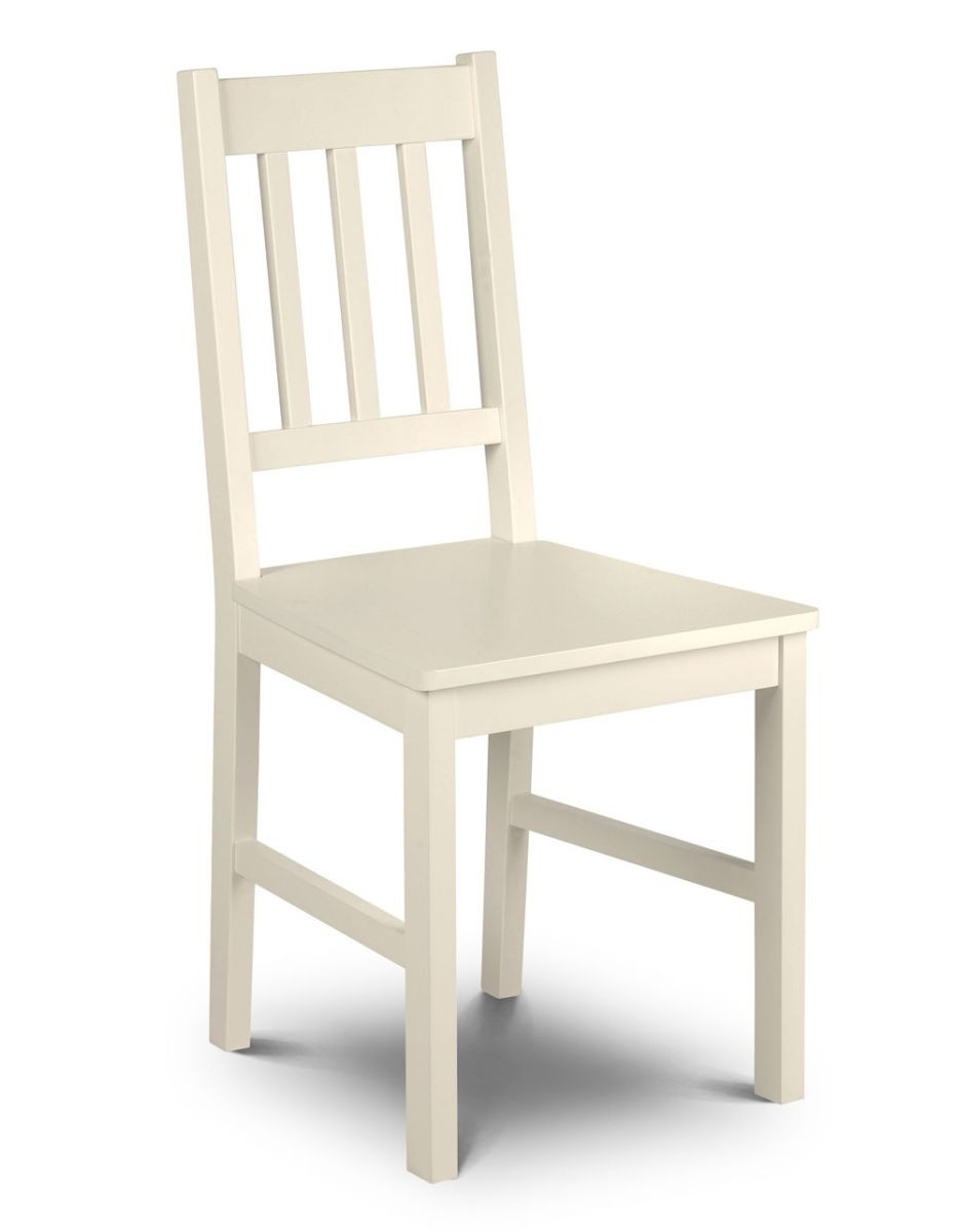 Cambell Stone White Chair