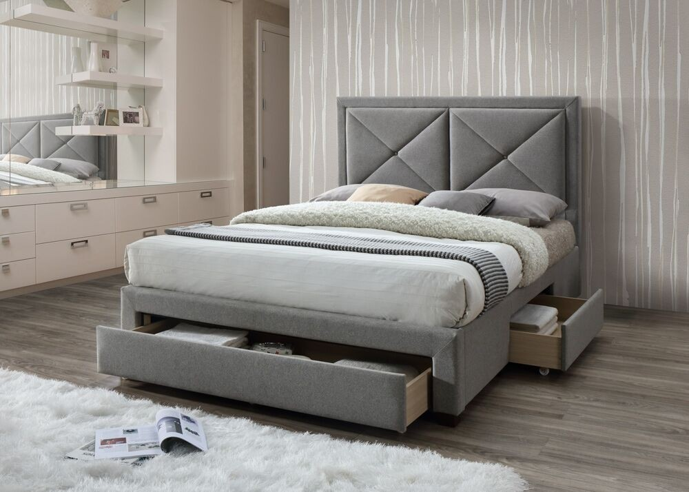 Suzanne Three Drawer Bed Frame