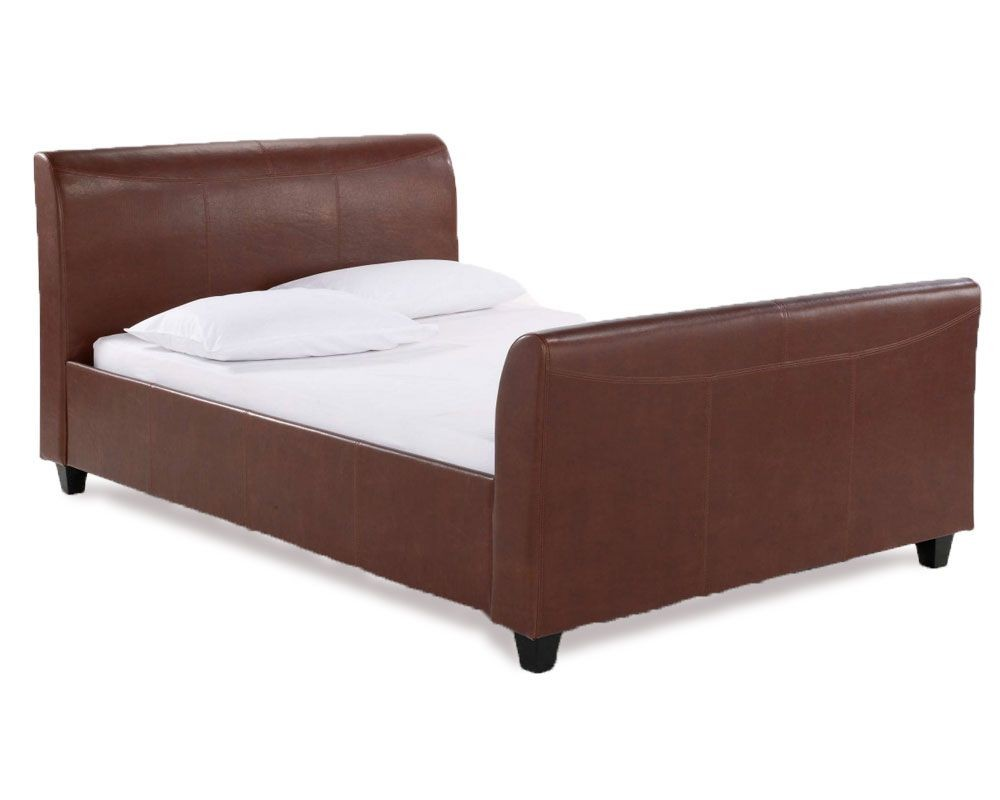 Chestnut Kingsize Bed Frame