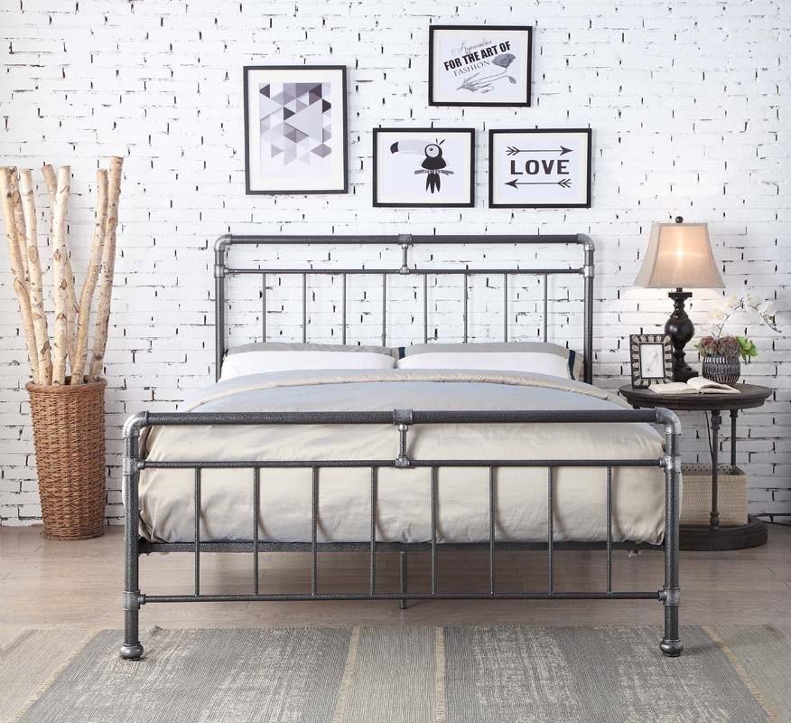 Kilcain Black Bed Frame