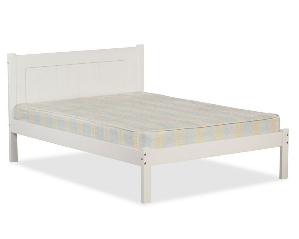 Clifford White Three Quarter Bed Frame