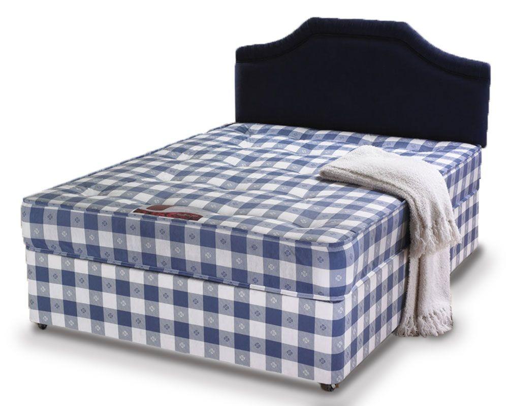 Club Ortho Three Quarter Non Storage Divan Bed