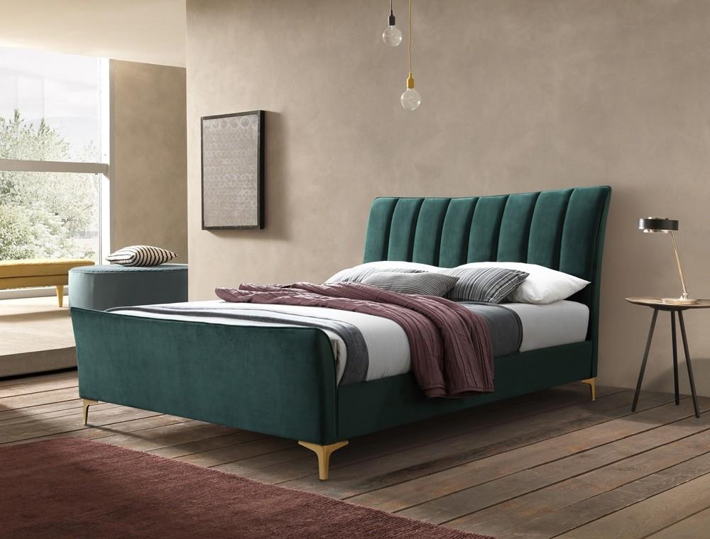 Cloud Green Bed Frame