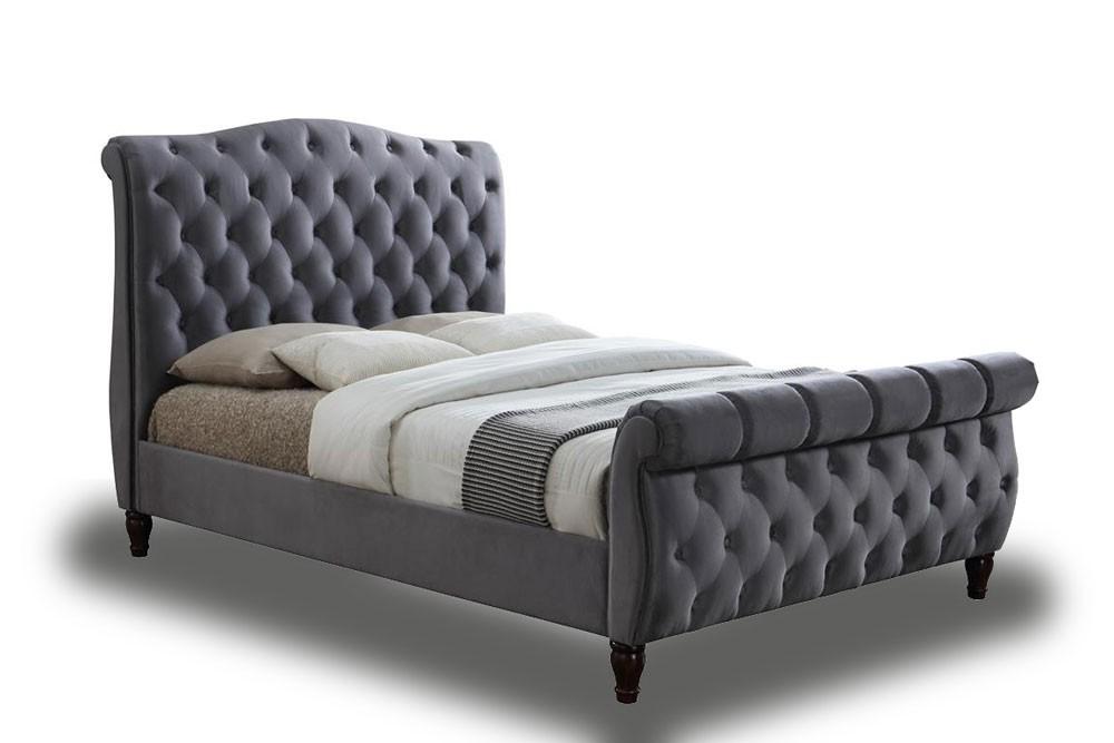 California Sleigh Bed Frame