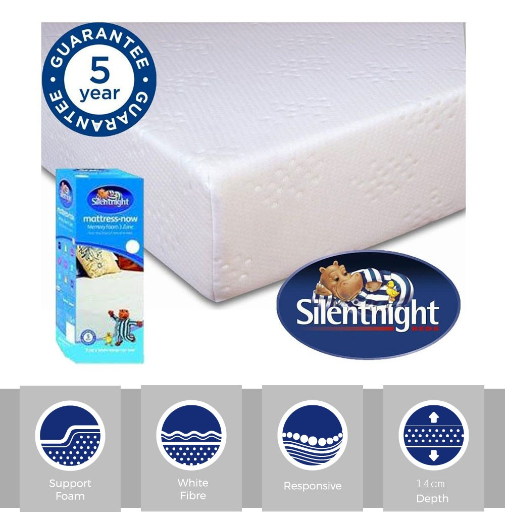 Silentnight Comfortable Single Mattress