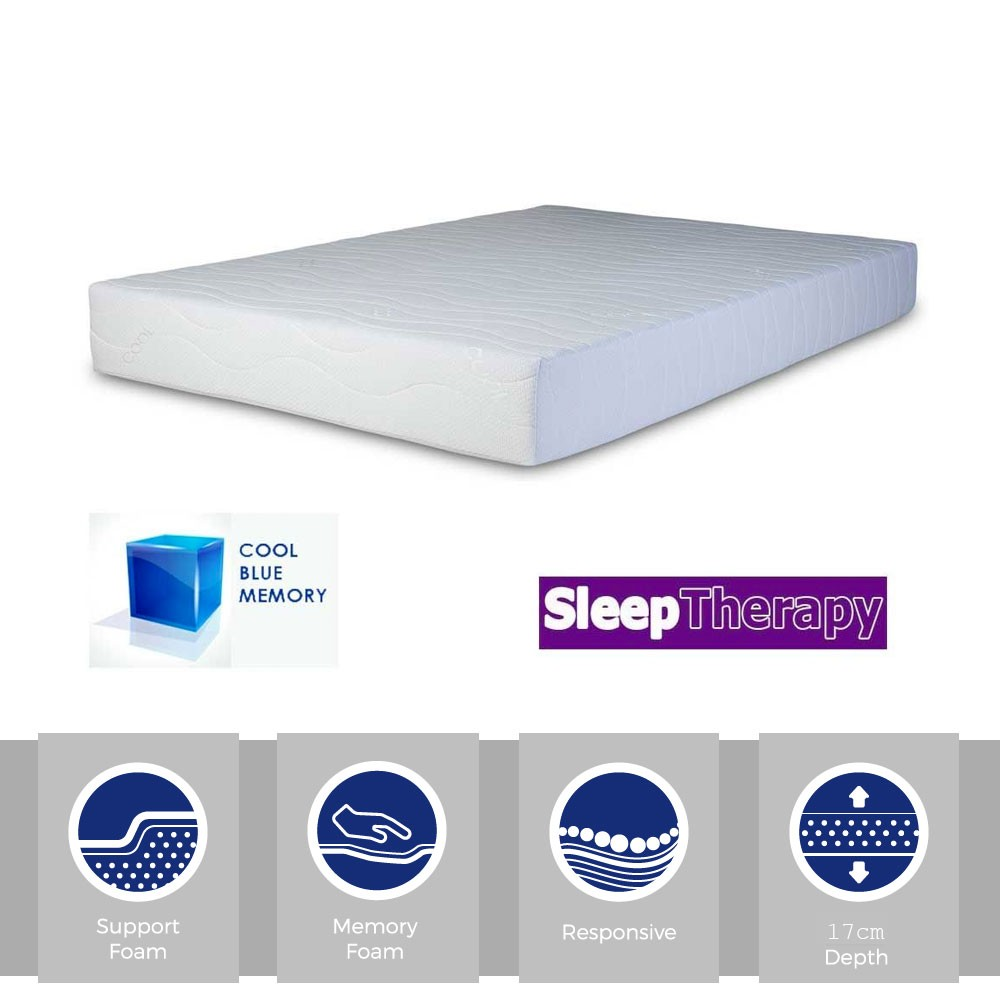 Sleeping Therapy CoolBlue 1700 Three Quarter Mattress