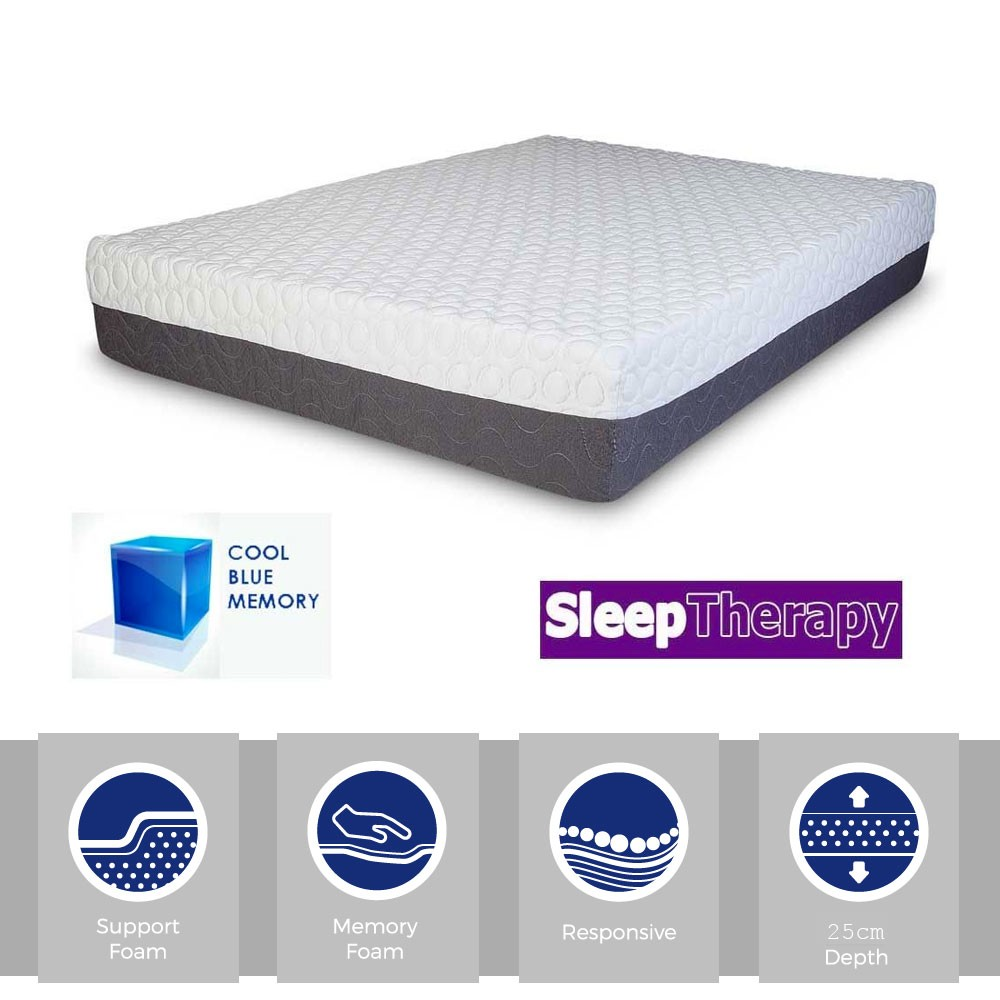 Sleeping Therapy CoolBlue 2500 Three Quarter Mattress