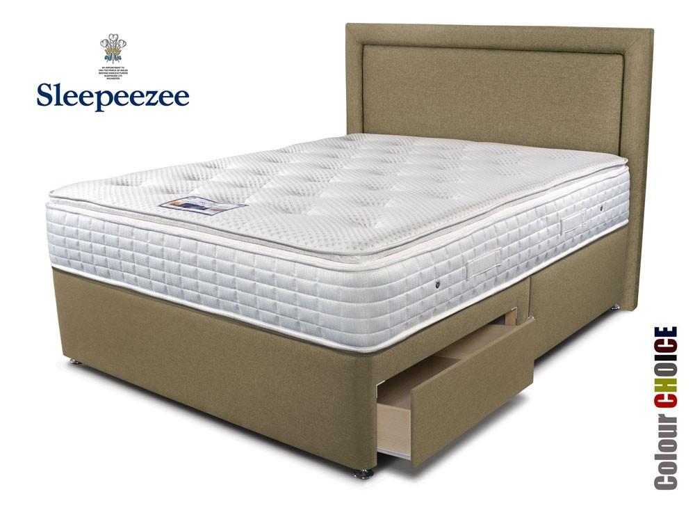 Sleepeezee Cool Sensations 2000 Divan Bed