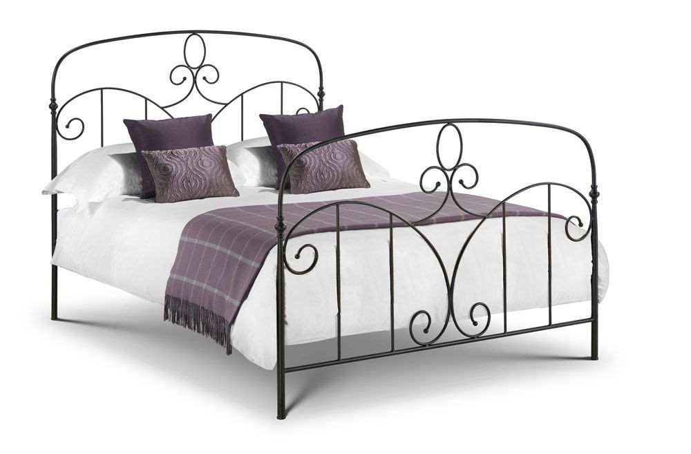 Corsico Black Kingsize Bed Frame