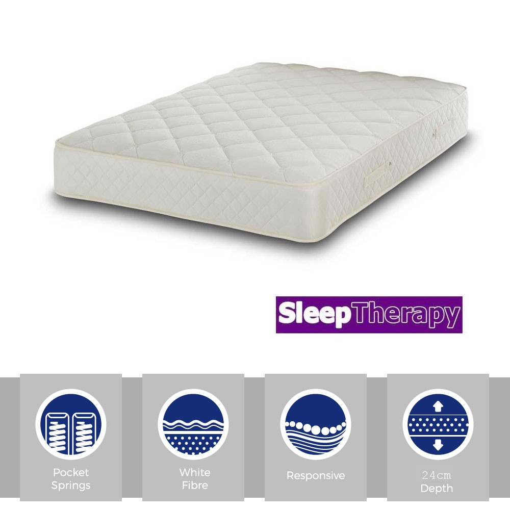 Deep Sleeper Pocket 1000 Three Quarter Mattress