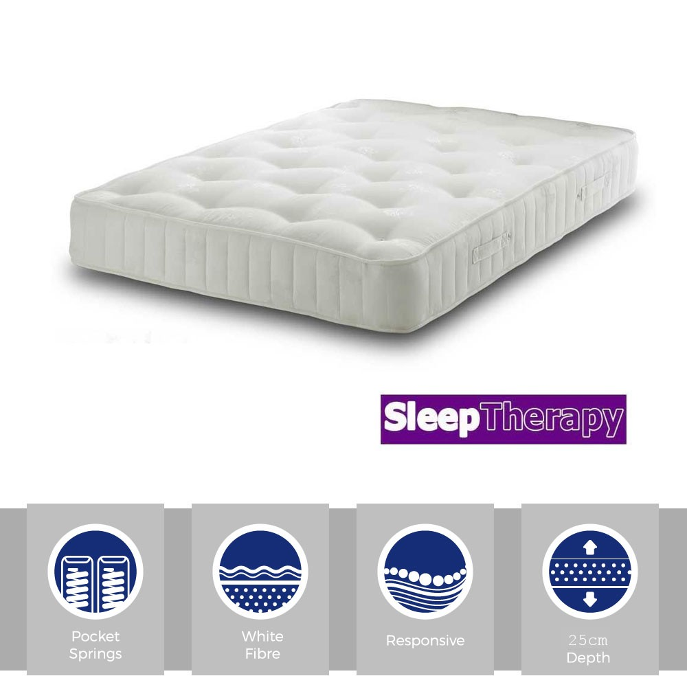 Deep Sleeper Pocket 1400 Three Quarter Mattress