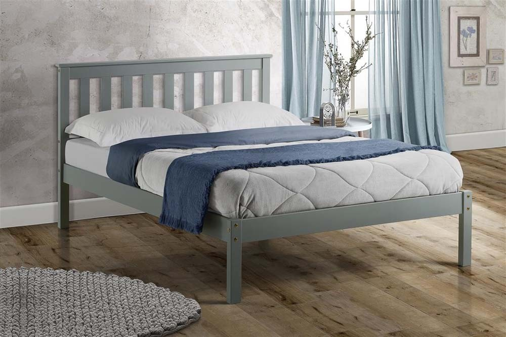 Derby Grey Bed Frame