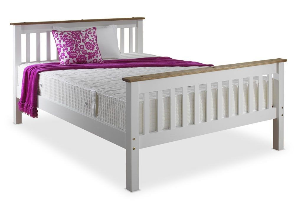 Devonshire White Double Bed Frame