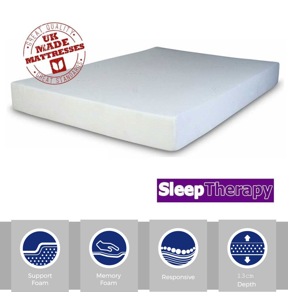 Sleeping Therapy Dream Memory Three Quarter Mattress