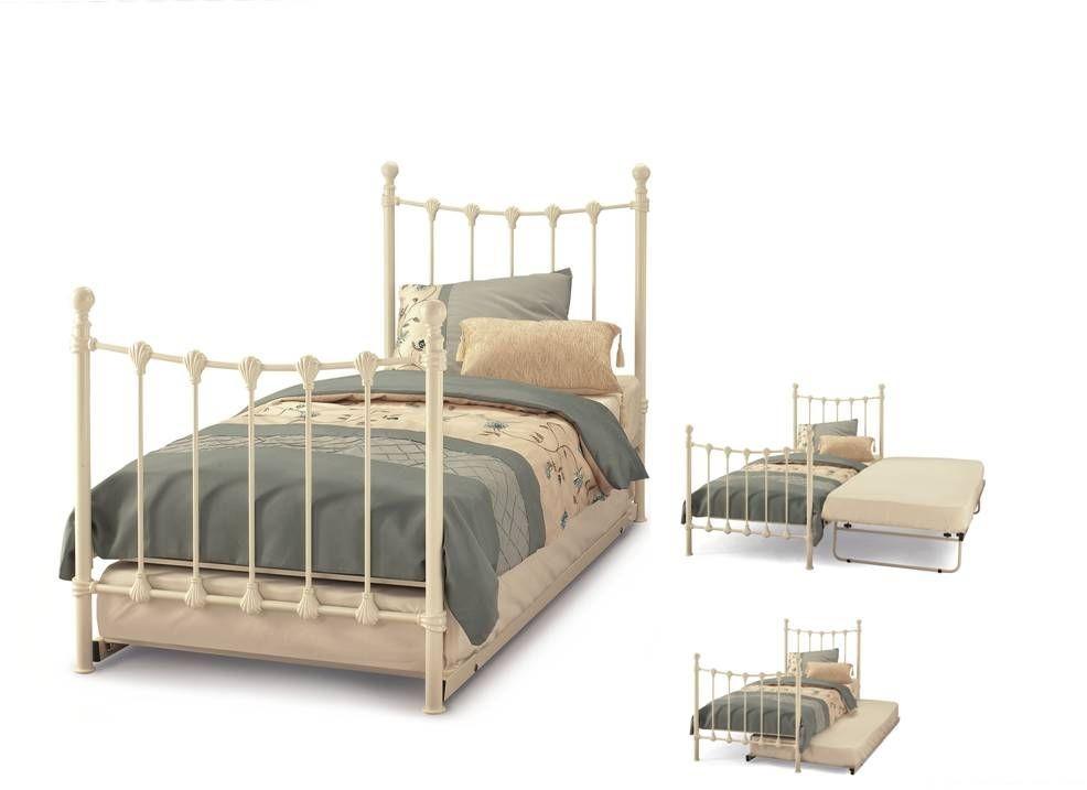 Marseilles Ivory Guest Bed Frame