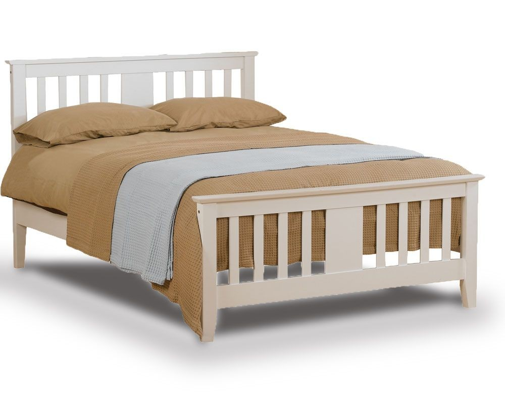 Eagle White Kingsize Bed Frame