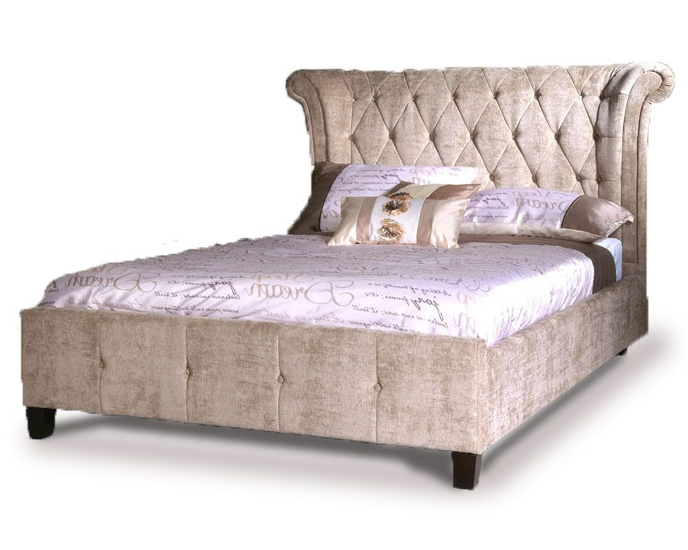 Epsilion Mink Double Bed Frame