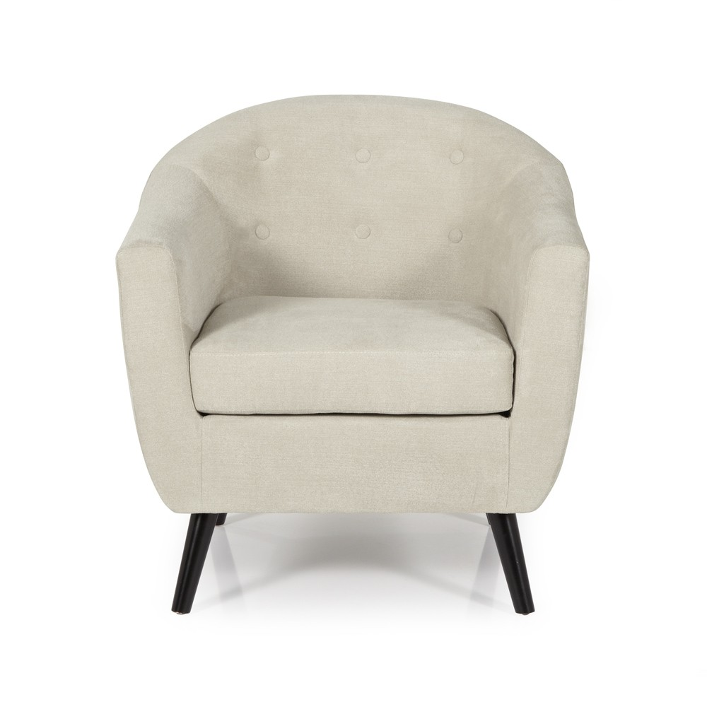 Mink Evie Occasional Chair