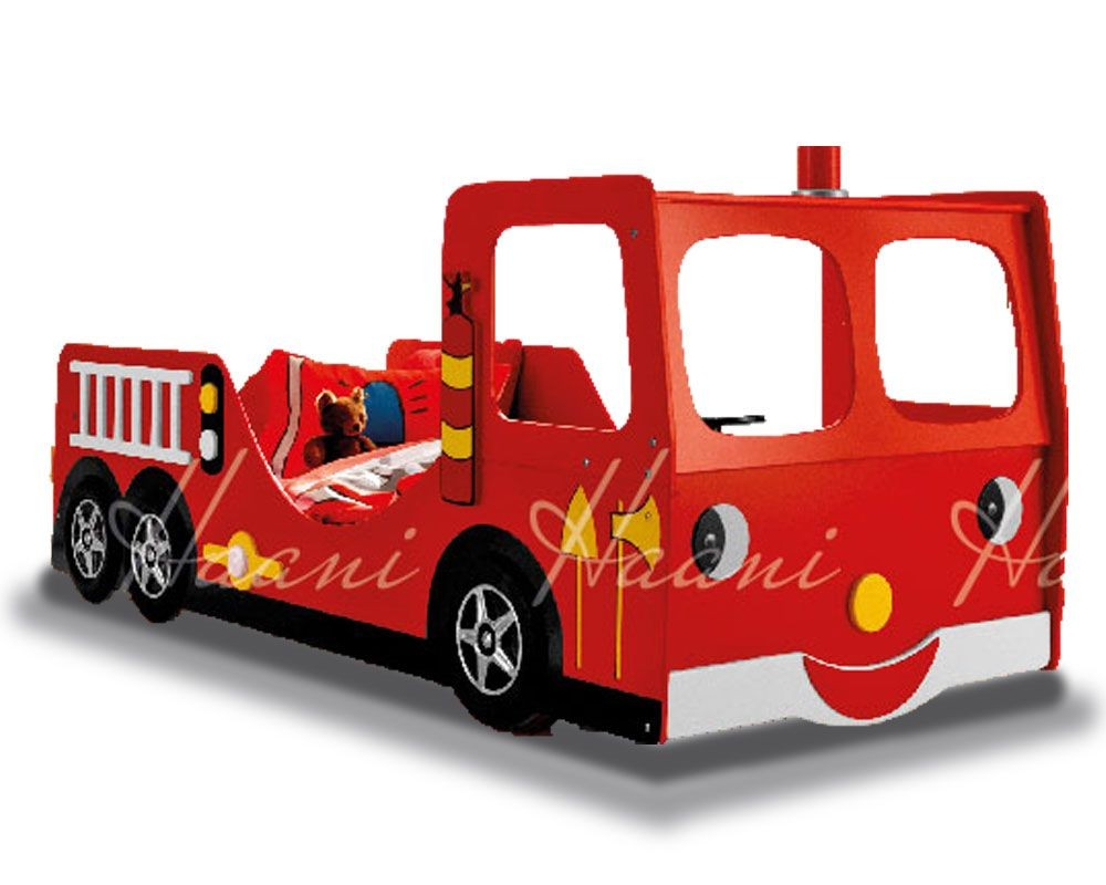 Fire Engine Single Bed Frame