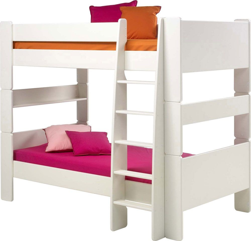 Glossy White Bunk Bed