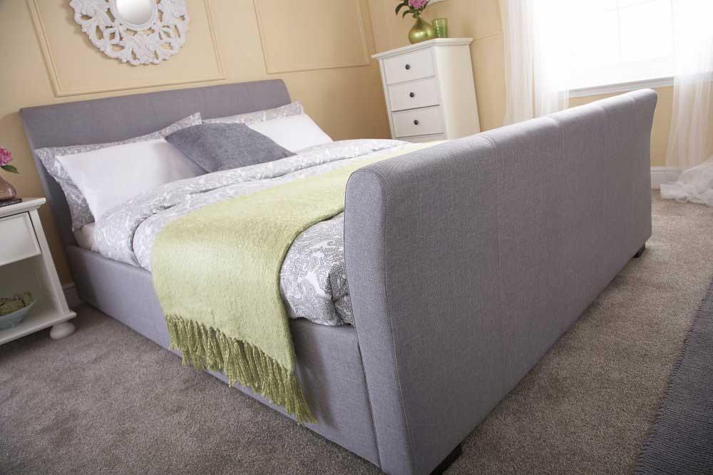 Hannah Grey Bed Frame