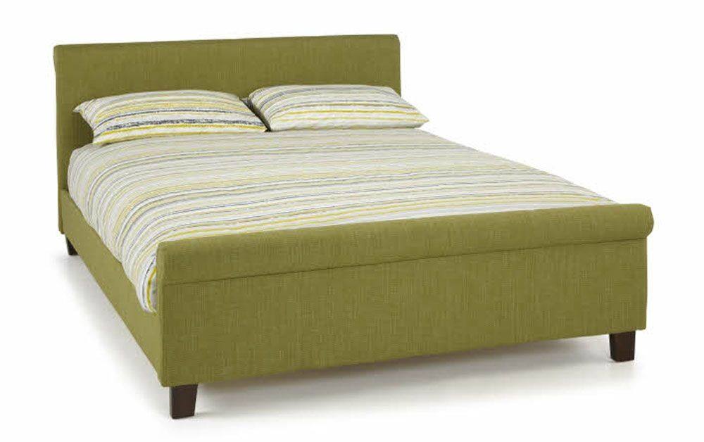 Hansel Olive Double Bed Frame